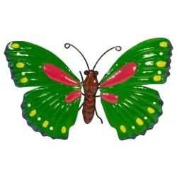 Motyl dekoracyjny 26cm zielony