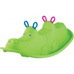 Huśtawka dla dzieci Hippo 103.5x45.5x30.5cm zielona