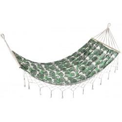 Hamak 1 osobowy 200x100cm z frędzlami natura Jungle Royokamp