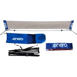 Zestaw ze słupkami Enero 310x76cm do tenisa ziemnego siatkonogi