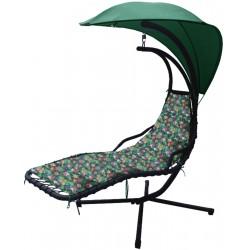 Huśtawka fotel bujany Lea tropic antracyt