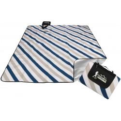 Koc plażowo piknikowy 200x180cm z powłoką alu