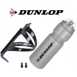 Bidon rowerowy Dunlop 750ml z koszykiem
