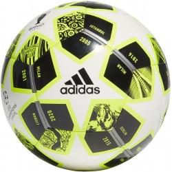 Piłka nożna adidas Finale 21 20th Anniversary UCL Club GK3472 r.5 biało-czarno-żółta