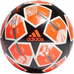 Piłka nożna adidas Finale 21 20th Anniversary UCL Club GK3470 r.3 pomarańczowo-czarno-biała
