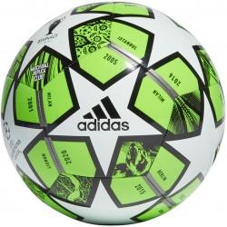 Piłka nożna adidas Finale 21 20th Anniversary UCL Club GK3471 r.5 zielono-biało-czarna