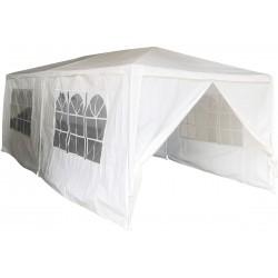 Pawilon ogrodowy namiot imprezowy 6x3m 6 ścian biały