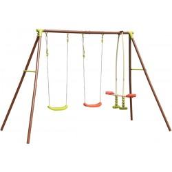Huśtawka ogrodowa 4 osobowa plac zabaw dla dzieci