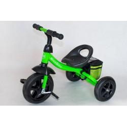 Rowerek Czarno Zielony Z Bidonem