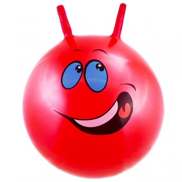 Piłka 55Cm Buźka Czerwona