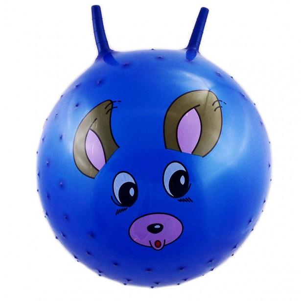 Piłka 55Cm Piesek Niebieska