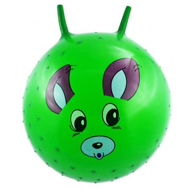 Piłka 55Cm Piesek Zielona