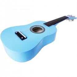 Gitara Drewniana Niebieska