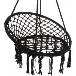Hamak bocianie gniazdo fotel wiszący Huśtawka 80x60cm