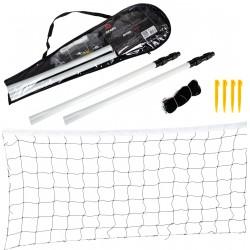 Zestaw Badminton Siatkówka Siatka i Słupki Enero 700