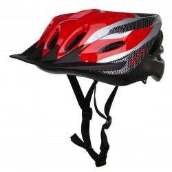 Kask rowerowy regulowany SPARTAN MTB RED r.L