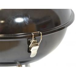 Grill piknikowy ufo 36,5X38cm czarny
