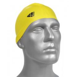 Czepek Silikon Junior Classic  Żółty