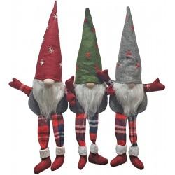 Skrzat mikołaj świąteczny gnom 50cm