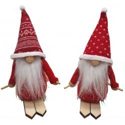 Skrzat krasnal świąteczny gnom 15cm