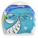 Zestaw Junior Shark Okularki + Czepek Niebieski