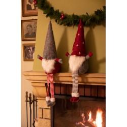 Skrzat krasnal świąteczny gnom 70cm