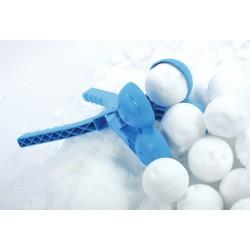 Śnieżkomat ballmaker snowball do robienia kulek śnieżnych podwójny czerwony