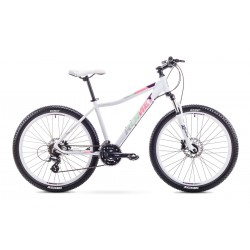 """Rower ROMET JOLENE 26"""" 3 biało-fioletowy 19 L"""