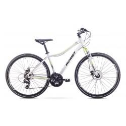 Rower Romet Orkan 1 D Biało-Seledynowy 15 S