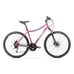 Rower Romet Orkan 3 D Różowy 15 S
