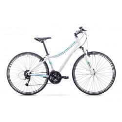 Rower ROMET ORKAN 2 D biało-niebieski 19 L