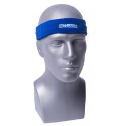 Frotka opaska tenisowa na głowę niebieska Enero