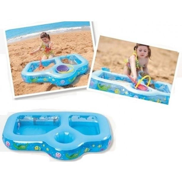 Basen Dziecięcy Do Zabawy Plażowej 90X60X13 Cm Jl097214Npf