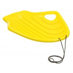 Ślizg Plastikowy Shell Żółty