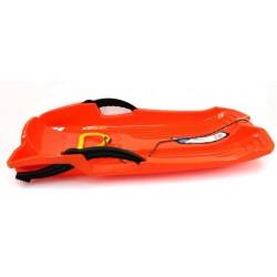 Sanki plastikowe z hamulcami Hornet pomarańczowe
