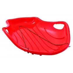 Ślizg Plastikowy Shell Czerwony