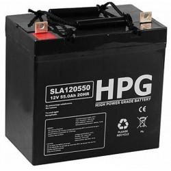 Akumulator Żelowy Hpg 120550 12V 55Ah