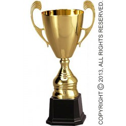 Puchar metalowy złoty T-M 4104-N/G