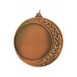 Medal Brązowy Na Emblemat 70 Mm (Mm 142 B) - Z Metalu Nieszlachetnego Grawerowany Laminat