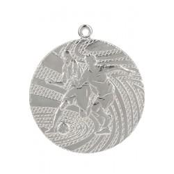 Medal Srebrny- Piłka Nożna - Medal Stalowy