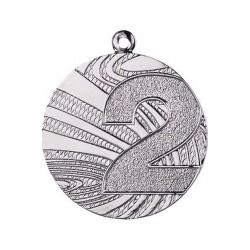 Medal Stalowy Srebrny Drugie Miejsce
