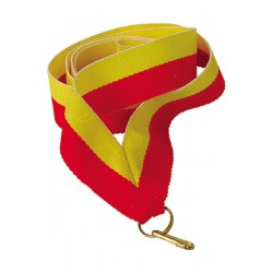 Wstążka 11 Mm - Żółto-Czerwona