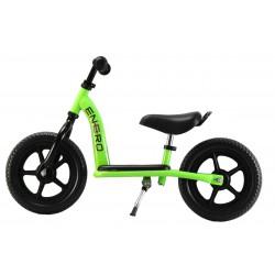 Rowerek biegowy Trans z podestem zielony 12 cali Enero