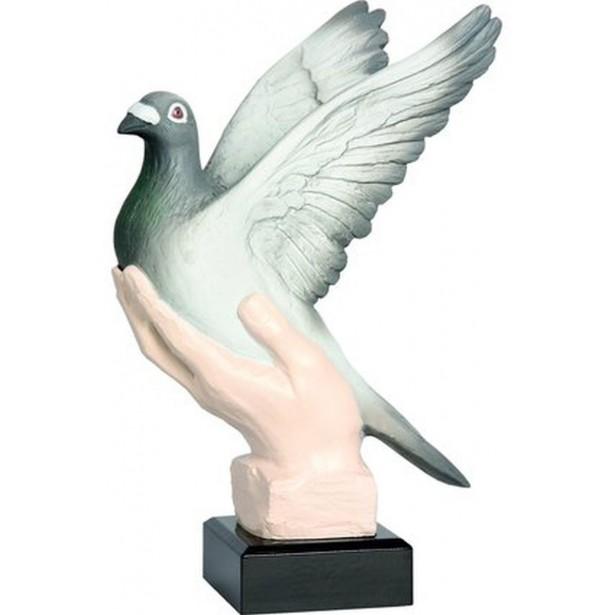 Figurka Odlewana - Gołąb  Rfst2045-27