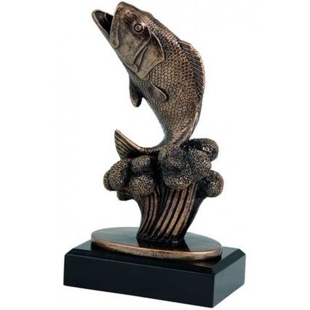 Figurka Odlewana - Ryba  Rfxr17010/Br