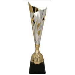 Puchar metalowy srebrno-złoty DALIA 3137A