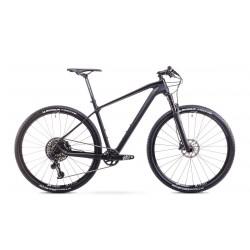Rower Romet Monsun 3 Czarny Mat/Błysk 19 L