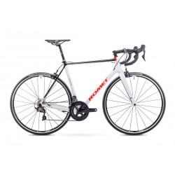 Rower Romet Huragan Crd Team Czarno-Biały 55