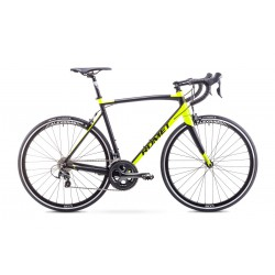 Rower Romet Huragan 4 Czarno-Seledynowy 56