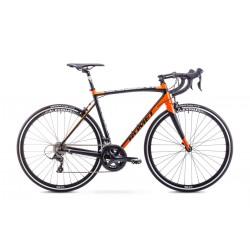 Rower Romet Huragan 3 Czarno-Pomarańczowy 56